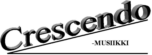 Crescendo-MUSIIKKI Logo